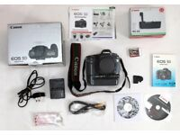 Canon EOS 5D mark 1 body, battery grip. With original boxes and accessories.