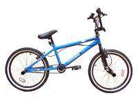 New Zombie Thug BMX Bike 20 inch Wheel Blue/Black RRP £200