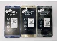 32gb-64gb Brand New Samsung Galaxy Note 5 Unlocked Open To All Networks Mostly All Colours