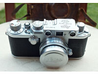 Leica DRP Ernst Leitz GmbH Wetzlar Germany/50mm SUMMITAR f/2 lens Nr. 667442