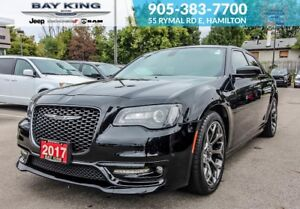 2017 Chrysler 300 S, GOLDPLAN, BACKUP CAM, GPS NAV, HEATED SEATS
