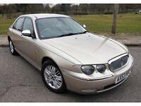 Rover 75 connoisseur se 2.0l deisel, auto, leather, sat-nav