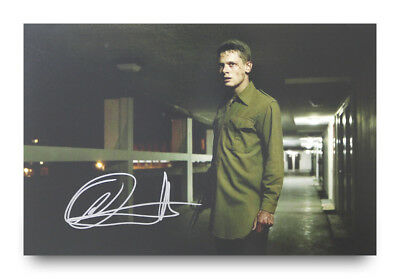 Jack O'Connell Signed 12x8 Photo '71 Movie Autograph Memorabilia + COA