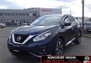 2017 Nissan Murano Platinum AWD CVT |Apple Car Play|Leather|360
