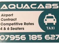 Taxi driver (Aqua cabs) looking for a driver.