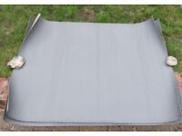 3 pieces of non slip deck covering - diamond pattern