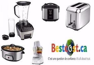 BLACK&DECKER PLUSIEURS PETIT ÉLECTROMÉNAGERS - SMALL APPLIANCES BLACK & DECKER AND OTHER BRANDS - BESTCOST.CA