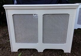 Radiator covers x 7 - white, off white, duck egg & beige colour