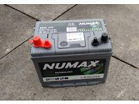 Caravan / Motorhome Battery DC24MF Numax Leisure 12V 80Ah | New Aug 2016 | Excellent Condition