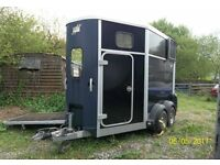 Ifor Williams 506 Horse Box - 2008/9, Blue