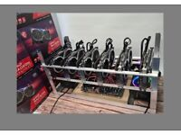 NEW Custom Cryptocurrency Mining Rig 6 x RX 6700 Ethereum 270mh/s