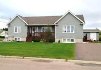 House (bungalow) with a side in-law suite -Shediac