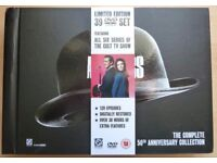 The Avengers: The Complete 50th Anniversary DVD Box Set
