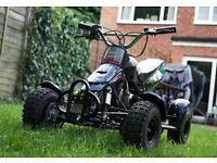 Quad Bike Kids 50cc excellent condition quick fix Monster graphics great fun for kids boys or girls