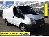 Ford Transit 2.2 ECOnetic Van-64K-1 Owner-FSH-1YR MOT- 6 Speed ,17' Inch Wheel,Elec Window-P Sensors