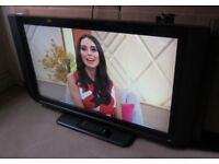 Freeview Television 40 inch Hitachi HD TV with Remote