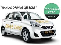 DRIVING LESSONS IN TOTTENHAM NORTH LONDON WITH A VERY HIGH PASS RATE