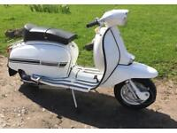 1977 Lambretta GP150 Rebuilt in UK at H Bomb Long Mot li Gp 150 scooter Lammy