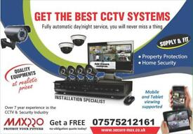 Full HD CCTV Cameras, Clear Image Night Vision Installation and FREE Remote Setup