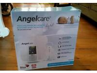 Angelcare AC701 Digital Touch Screen Movement & Sound Baby Monitor.