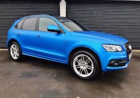 2010 AUDI Q5 S LINE QUATTRO 2.0 TDI 170 *WRAPPED MATTE BLUE* NOT Q3 TIGUAN CR-V KUGA BMW X3 X5 A4 A6