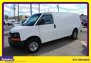 2011 Chevrolet Express 2500 3/4 TON CARGO BACK WIND.ONLY, DIGITA
