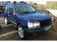 Range Rover Vogue P38 Low Mileage For Year 1 owner before me for 8 years