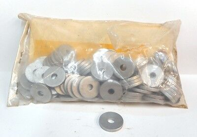 "UNKNOWN BRAND, SPACERS, OUTSIDE DIAMETER 7/8"", INSIDE DIAMETER 1/4"" LOT OF 100"