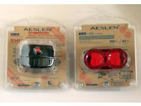 Quality Bike Lights. V Good Build & Spec Expensive AKSLEN Brand. Would Cost £50 Sell £20. Brand New