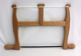Handmade Wooden Bow Saw - Traditional Beech Construstion