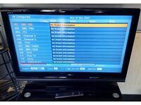 SONY 37 Inch Black Digital TV.