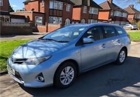 "2013 ""13"" Toyota Auris Icon Hybrid Estate 140k Full Toyota History SAT NAV HPI CLEAR Prius plus +"