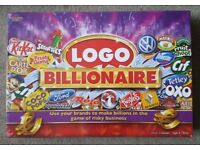 BRAND NEW SEALED LOGO BILLIONAIRE BOARD GAME.
