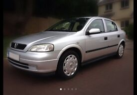 2002 VAUXHALL ASTRA CLUB 1.6 Petrol 8V SILVER FOR BREAKING FULL CAR