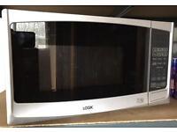 Logik 800w microwave & grill - like new