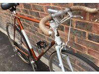 59cm 23inch Vintage racer hybrid retro Raleigh road race racing bike commuter bicycle