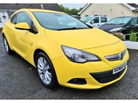 2012 Vauxhall Astra GTC 1.4 Turbo **Only 50k Miles**8 months warranty**Finance available**
