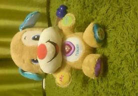 Fisher price laugh and learn smart stage puppy