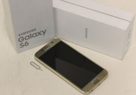 SAMSUNG GALAXY S6 GOLD PLATINUM ONLY 6 MONTHS OLD