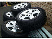 Tyres & Alloys for Mercedes 16inch