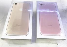 Brand new boxed sealed iPhone 7 128gb gold factory unlocked