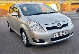 TOYOTA COROLLA VERSO D4D DIESEL 2007(57)FULL SERVICE HISTORY 2 KEYS EXCELLENT CONDITION £3490