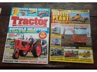 Plant and Tractor magazines