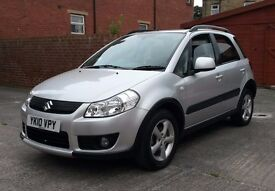 SUZKUZI SX4 1.6 PETROL ONE PREVIOUS OWNER TESTED 12 MONTHS ALLOY WHEELS ROOF RAILS PRICE REDUCED
