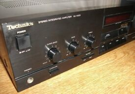 Technics SU-X933 Integrated Amplifier New Class A 5 Inputs [Inc Phono] - Excellent Condition