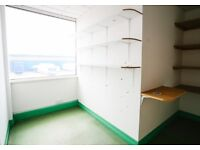 Light, bright space in Meanwhile House Cardiff | Perfect office or studio for one