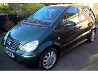 Lovely Mercedes A Class - A140 (Top of the range Elegance Edition), Petrol, Manual, 1.4, New MOT