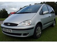 Ford galaxy zetec 7 seater 1.9 tdi 6 speed .124000 mileage long mot 12months drives super excellent