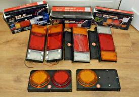 LED REAR TAIL LIGHTS BUNDLE 12-24V TRUCK LAMP TRAILER STOP INDICATOR REVERSE SET