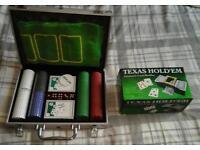 200 piece Poker set with a card shuffler